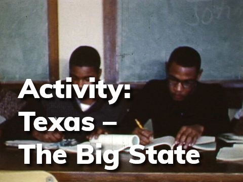 Activity - Texas - The Big State