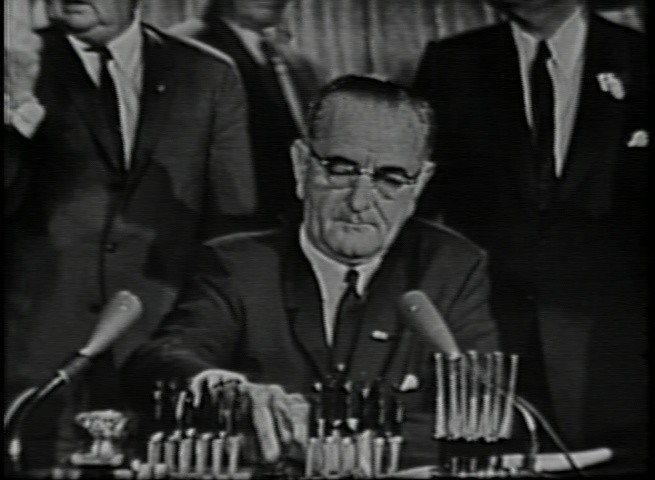 Remarks Upon Signing the Civil Rights Bill, July 2, 1964 tn.jpg